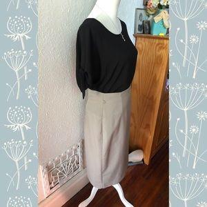 Worthington Skirts - Worthington Belted Pencil Skirt